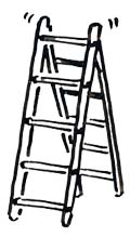Speed Draw video 5 steps to production step ladder