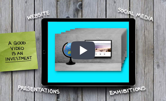 Short stop motion video explaining how online video helps SEO